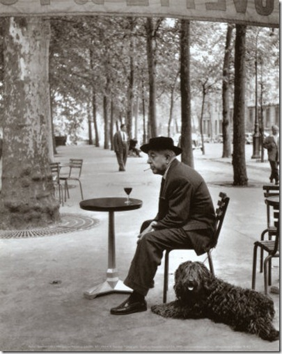 doisneau-robert-jacques-prevert-paris-1955