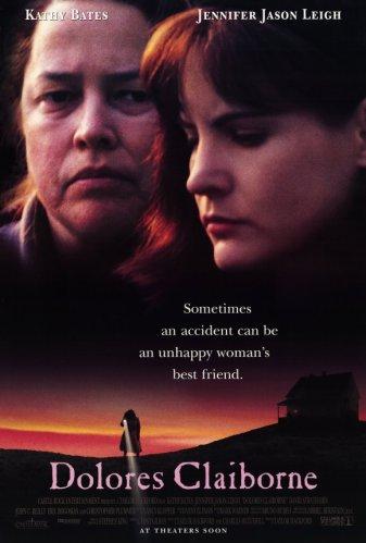 """Affiche du film """"Dolores Claiborne"""", réalisé par Taylor Hackford et sorti en 1995"""